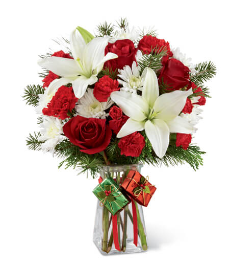 The Joyous Holiday Bouquet